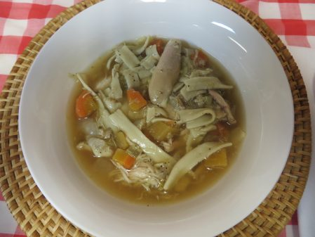 Homestyle Chicken Noodle Soup 5
