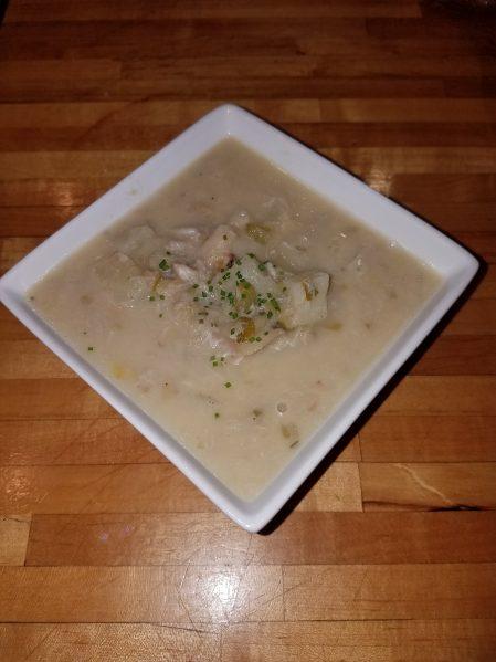 Seafood chowder 1